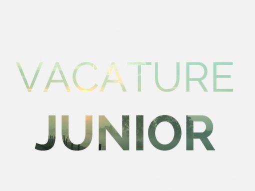 Vacature Junior