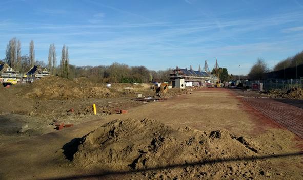 De Virieupark Zaltbommel, fase 1 volop in ontwikkeling